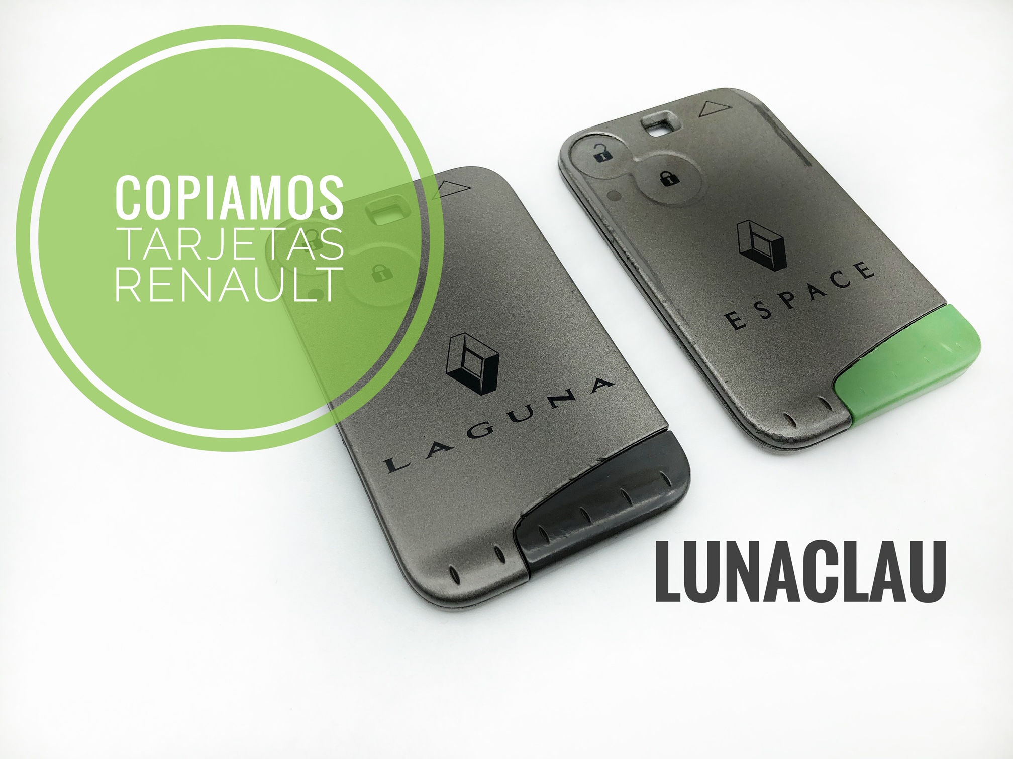 Duplicado de trajetas Renault
