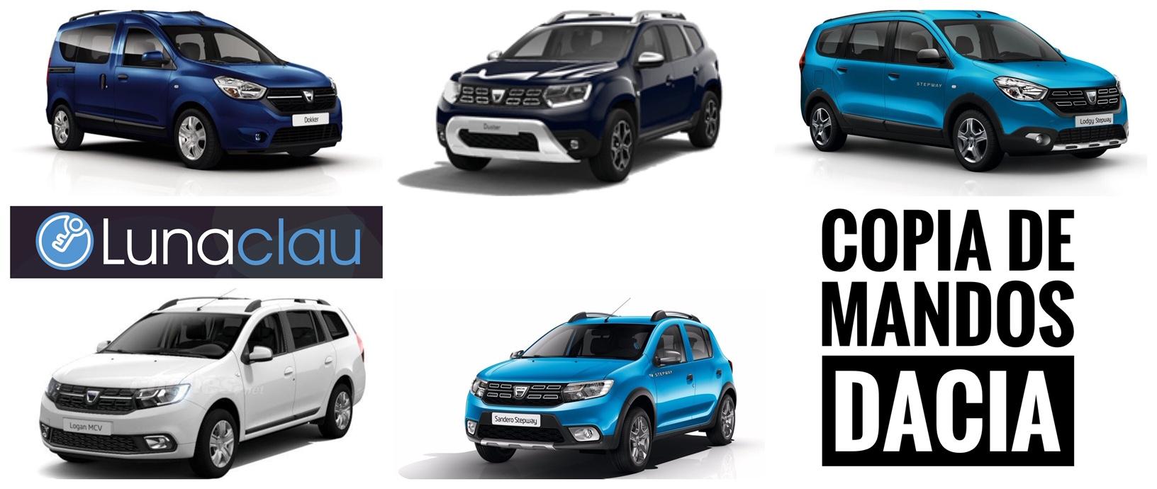 Copia de mandos Dacia en Valencia
