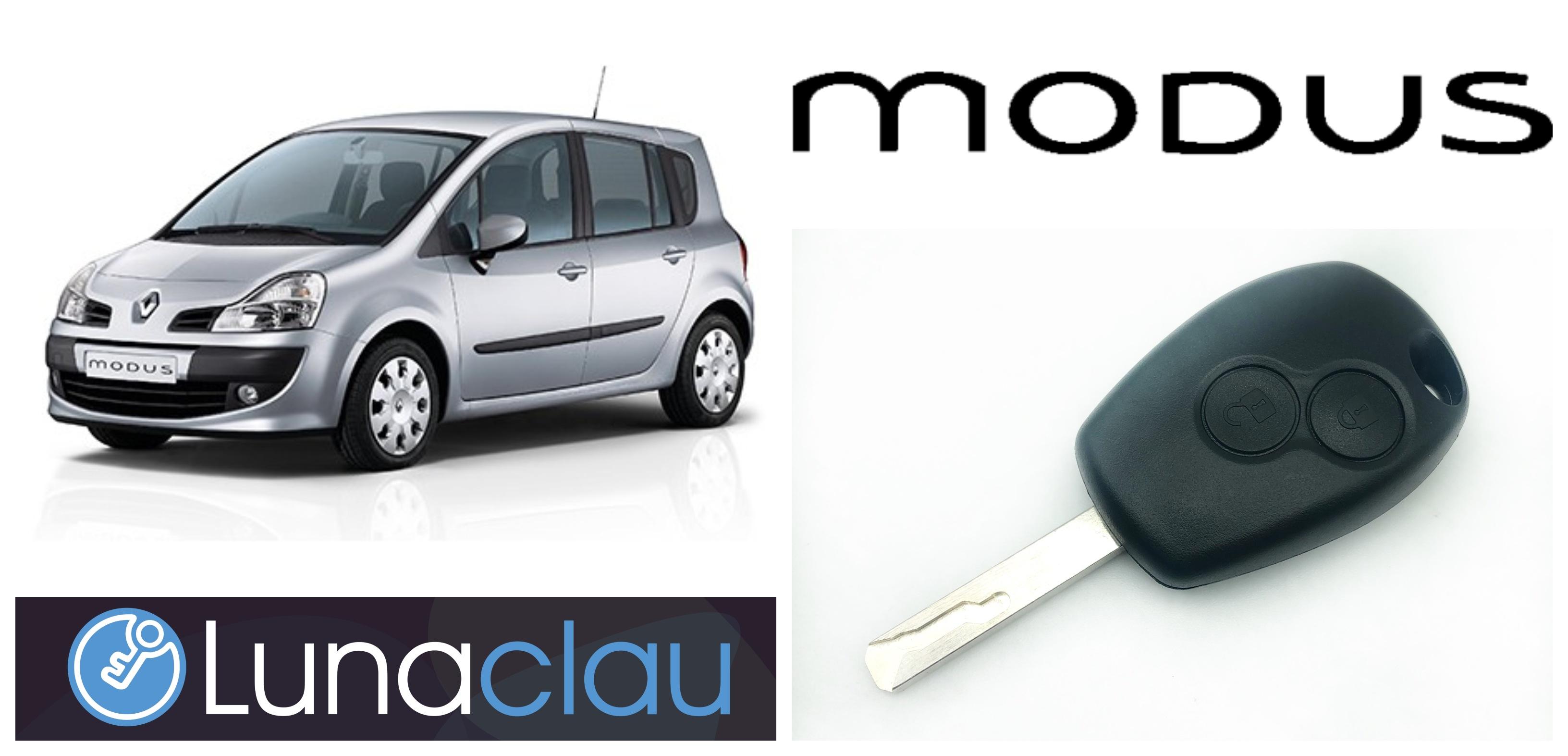 Copia mando Renault Modus