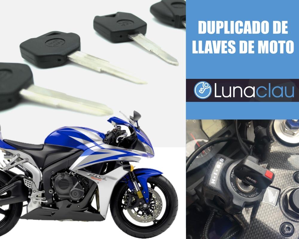 Copia llaves de moto con chip en Valencia